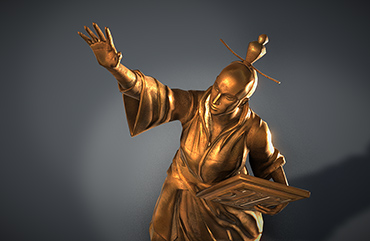 Statue Real-Time Unity ZBrush