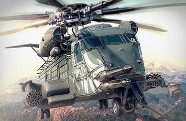 War Commander: Mega Heli