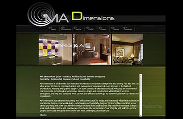 UI/UX MadDimensions Web01